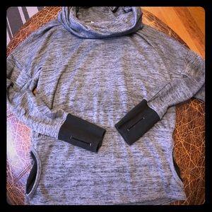 Athleta Small Funnel Neck Sweatshirt